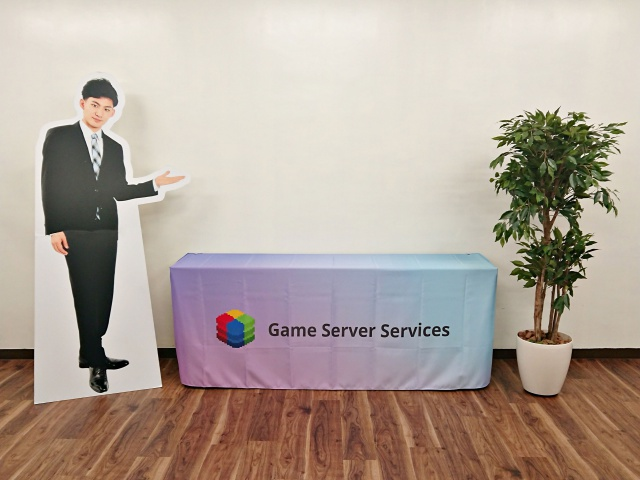 Game-Server-Services㈱様 テーブルクロス