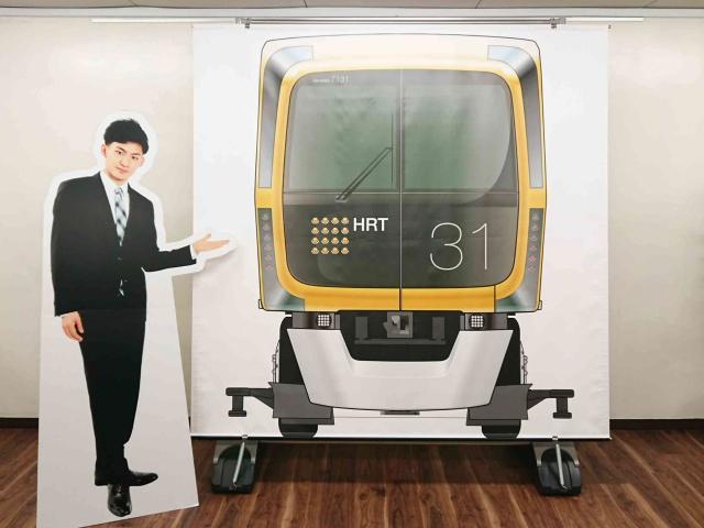 広島高速交通㈱様 屋外用大型バックパネル