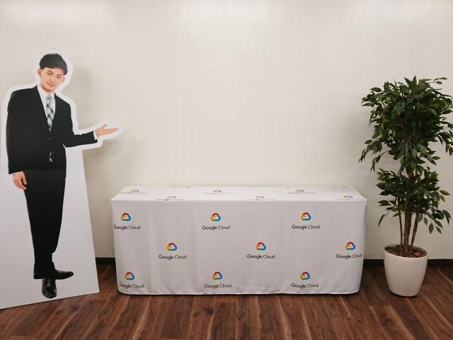 グーグル・クラウド・ジャパン合同会社様 テーブルクロス