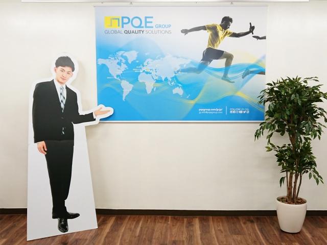 PQE-JAPAN㈱様 タペストリー
