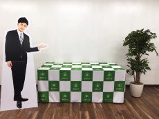 北海道大学病院様 テーブルクロス②